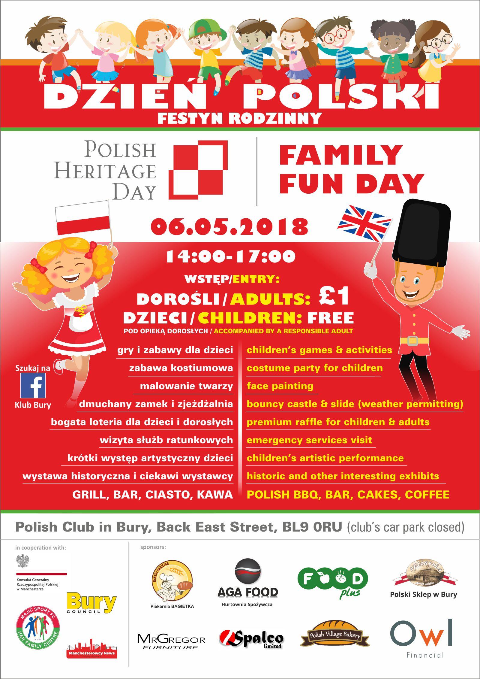 Polish Heritage Day Polish Club Bury